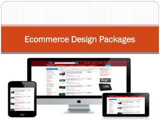 Ecommerce Design Packages