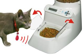 Wireless Whiskers automatic cat feeder