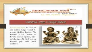 Diwali/ Lakshmi  Pooja Items :Up To 70% Discount