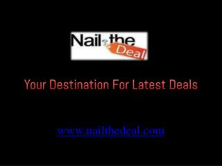 Nail The Deal - Outdoor Water Sports Adventure Deals in Dubai, UAE
