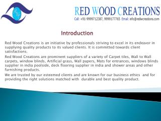 RED WOOD CREATIONS