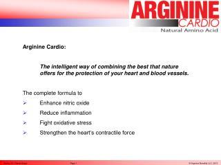 Buy Arginine Cardio