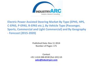 Electric Power Steering(EPS) Market: combined automotive steering and suspension systems market revenue was around $12 b
