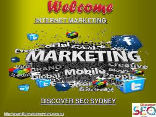 Internet Marketing | Discover SEO Sydney