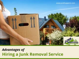 Advantages of Hiring a Junk Removal Service in MN