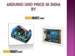 Arduino Uno Price in India - RObomart