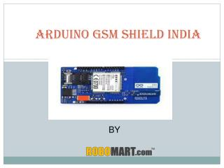 Buy Arduino Gsm Shield India-Robomart
