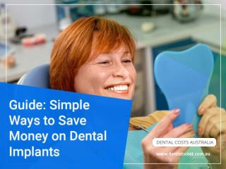 Tips to Save Money on Dental Implant in Australia