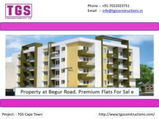 Flats In Begur - TGS Constructions