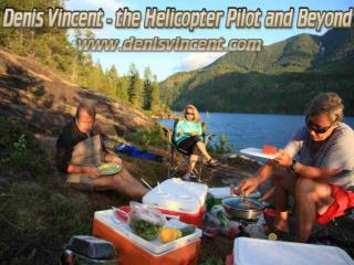 Denis Vincent- the Helicopter Pilot and Beyond