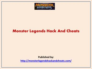 Monster Legends-Monster Legends Hack And Cheats
