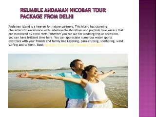 The Best Way to Enjoy Andaman Nicobar Tour Packages from Delhi