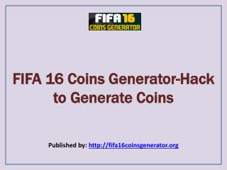 Hack to Generate Coins