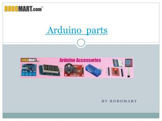 Where to Buy Arduino parts