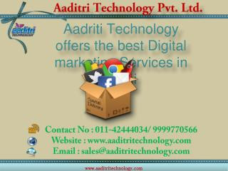 Digital Marketing Services, Digital Marketing Company in Delhi