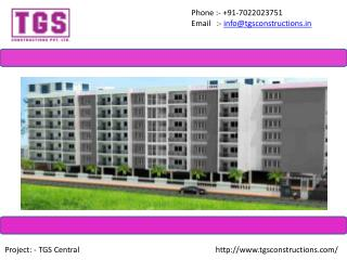 Flats & Apartments In BTM Layout - TGS Constructions