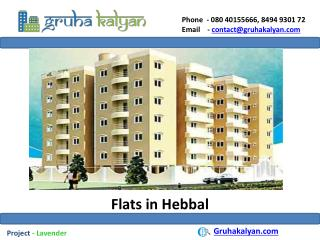 Flats for sale in hebbal