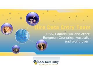 Outsource Data Entry Job