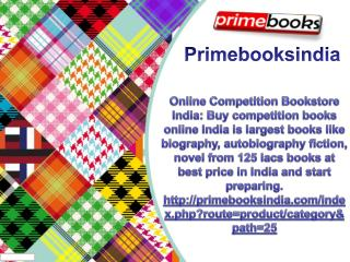 Online Competition Bookstore India