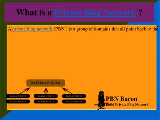 Affotable Private Blog Network Service at PBN BARON