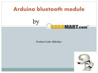 Arduino Bluetooth module by Robomart