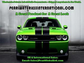Pearl® waterless car wash products continue to reach all around the globe