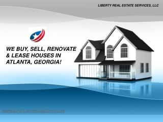 Sell My House Atlanta - www.buyatlantahousesfast.com