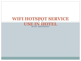WiFi HotSpot Importent Useful in Hotel   | kavach.mobi