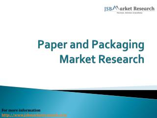 Paper and Packaging Market Research