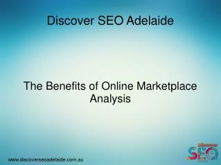 Best Online Marketplace Analysis Service At Discover SEO Adelaide
