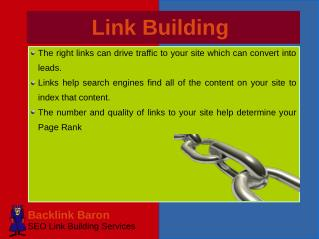 Quality SEO Link Building Services with Backlink Baron