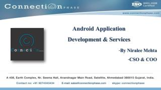 Android Development, Android Apps Development Company India