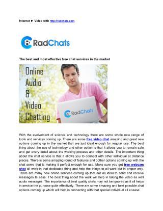 best free webcam chat sites