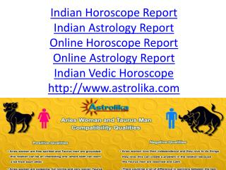 Indian Horoscope Report - Astrolika.com