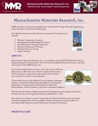 Material Testing Companies