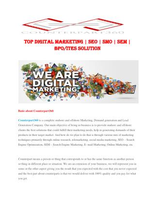 Digital Marketing Solution And Services 2015-2022