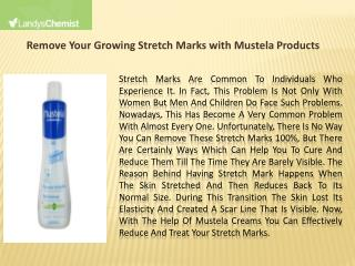 Remove Your Growing Stretch Marks with Mustela Products