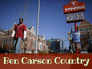 Ben Carson country
