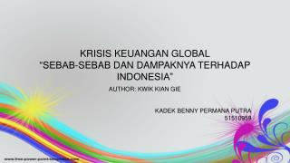 keuangan global
