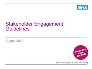 Stakeholder Engagement Guidelines
