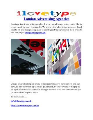 London Advertising Agencies