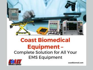 Where to Buy Biomedical Equipment and EMS Supplies