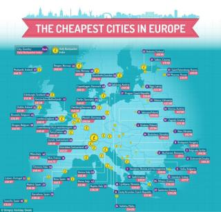 Cheapest European Destinations Revealed