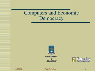 Computers and Economic Democracy