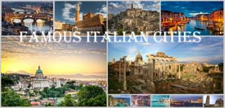 The Famous Italian Cities