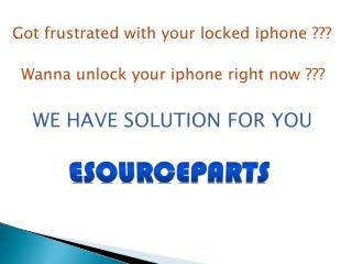 unlock iphone service