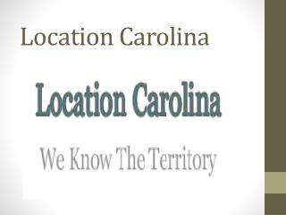 Location Carolina