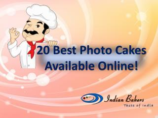 Best Photo Cakes Online