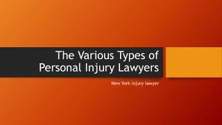 NYC personal injury lawyer