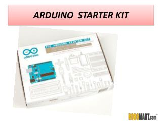 Buy Arduino Starter kit India by ROBOMART
